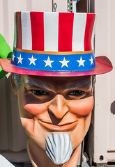 uncle sam (pbo31) Tags: hayward california eastbay alamedacounty bellplastics giant charater color nikon d810 august 2019 boury pbo31 big america usa 4thofjuly uncle sam red