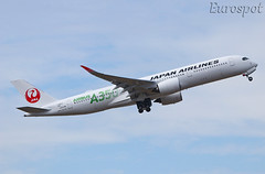 F-WZGE Airbus A350 Japan Airlines (@Eurospot) Tags: ja03xj fwzge airbus a350 a350900 toulouse blagnac lfbo japanairlines