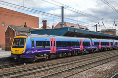 170308 (+303), Doncaster (JH Stokes) Tags: transpennineexpress tpe 170308 class170 doncaster trains railways photography transport