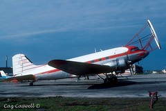 CF-IOC (BuNo 42-93534)  C-47A  Hudson Bay Air Transport (caz.caswell) Tags: yee yyz asa lgw lhr ffd gua mia midlandairport midlandhuroniaairport torontointlairport lesterbpearsonintlairport basselalassadintlairport londongatwickintlairport londonheathrowintlairport raffairford riat royalintlairtattoo guatamalacityintlairport miamiintlairport dc3 c47 c53 gooneybird dakota skytrain ac47 spooky c117 cc129 r4d 2xprattandwhitneyr1830radialengines douglasaircraftcorporation airliner paratrooper freight cargo passenger cfioc buno4293534 hudsonbayairtransport