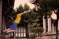 Take Flight in Color (alex in bkny) Tags: taiwan taipei temple color xt20 fujifilm iso400 16mm f56 130sec