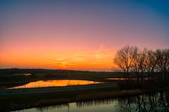 The sun had set, and dusk settled over the lands. (Alex-de-Haas) Tags: adobelightroom aurorahdr aurorahdr2019 dji dutch fc6310 hdr holland n9 nederland nederlands netherlands noordholland noordhollandschkanaal p4p phantom phantom4 phantom4pro rc schoorldam skylum warmenhuizen westfrisia westfriesland aerial aerialphotography air beautiful beauty bewolking canal cirrus clouds drone dusk kanaal landscape landschaft landschap lente lucht luchtfotografie polder quadcopter reflectie reflection schemer schemering skies sky sluierwolken spring sundown sunset water wolken zonsondergang northholland