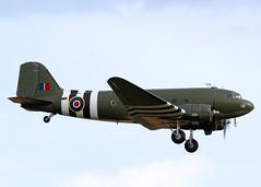 ZA947 Douglas C-47A Dakota 3 BBMF (Keith B Pics) Tags: za947 douglas dc3 dakota c47 bbmf keithbpics londonsouthendairport battleofbritainmemorialflight dakota93 egmc sen bigginhill airshow 4224338 usaf rcaf661 kg661