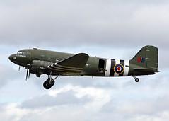 ZA947 Douglas C-47A Dakota 3 BBMF (Keith B Pics) Tags: airshow douglas dc3 dakota sen c47 battleofbritainmemorialflight bigginhill bbmf za947 egmc londonsouthendairport keithbpics dakota93 kg661 rcaf661 usaf4224338