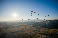UFO? (smallchih) Tags: hot air balloon cappadocia turkey