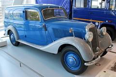 170V Panel Wagon (Schwanzus_Longus) Tags: stuttgart german germany old classic vintage car vehicle station wagon estate break kombi combi panel mercedes benz 170v