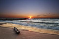 Morze Bałtyckie/Baltic sea - Kołobrzeg (pczypionka) Tags: morze sea beach plaża kołobrzeg kolobrzeg colberg krajobraz polska bałtyckie bałtyk morzebałtyckie zachód słońce sunset landscape slonce