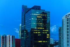 Miami Skyline (ruifo) Tags: miami biscayne bay florida fl us usa united states skyscraper skyscrapers skyline city urban night dark low light nikon d850 nikkor afs 24120mm f4g ed vr sunrise sun rise nascer sol mañana manhã morning