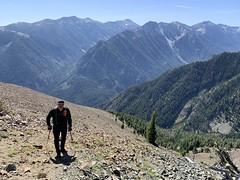 Bday Peak Bagging in the Wallowas (Doug Goodenough) Tags: hike climb walk scott wallowas mountains summit summer augest aug 2019 joseph lake peak 55 bday birthday steep drg531 drg53119 drg53119wallowasummit