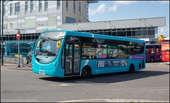 Arriva SN68AGP (Mike McNiven) Tags: arriva derby busstation derbyshire wright streetlite chellaston
