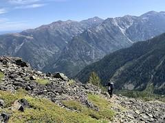 Bday Peak Baggin in the Wallowas (Doug Goodenough) Tags: hike walk climb steep wallowas oregon views vistas lake scott 2019 19 augest aug drg531 drg53119 drg53119wallowasummit summit peak