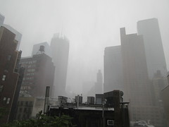 2019 Rainy Sunday Afternoon Hells Kitchen Clinton 8185 (Brechtbug) Tags: 2019 rainy sunday afternoon hells kitchen clinton near times square broadway nyc 08182019 new york city midtown manhattan rain shower summer august storms showers downpour deluge wet drops drop dropping down weather building fog like foggy hell s nemo southern view soaker soak soaking