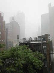 2019 Rainy Sunday Afternoon Hells Kitchen Clinton 8178 (Brechtbug) Tags: 2019 rainy sunday afternoon hells kitchen clinton near times square broadway nyc 08182019 new york city midtown manhattan rain shower summer august storms showers downpour deluge wet drops drop dropping down weather building fog like foggy hell s nemo southern view soaker soak soaking