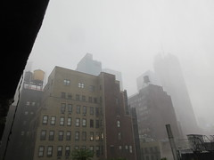 2019 Rainy Sunday Afternoon Hells Kitchen Clinton 8172 (Brechtbug) Tags: 2019 rainy sunday afternoon hells kitchen clinton near times square broadway nyc 08182019 new york city midtown manhattan rain shower summer august storms showers downpour deluge wet drops drop dropping down weather building fog like foggy hell s nemo southern view soaker soak soaking