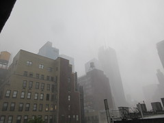 2019 Rainy Sunday Afternoon Hells Kitchen Clinton 8171 (Brechtbug) Tags: 2019 rainy sunday afternoon hells kitchen clinton near times square broadway nyc 08182019 new york city midtown manhattan rain shower summer august storms showers downpour deluge wet drops drop dropping down weather building fog like foggy hell s nemo southern view soaker soak soaking