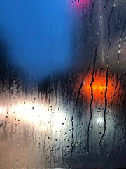 七夕情人節 1080807 (#Esther) Tags: bokeh glass valentine 七夕情人節 情人節 love romantic poetic dark red blue light rain rainy sentiment