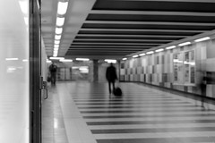 The loneliness of the urban soul (ucn) Tags: gesundbrunnen railwaystation bahnhof zeissikondonata2277u tessar135cmf45 agfacopexrapid adoxatomal49 rollexpatent6x9cm