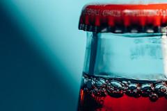"Sanbitter ""Closed"" (Geolilli) Tags: macro macromondays closed sanbitter drink liquid glass light shadow canon 100mm28 bottle summer italy beverage"