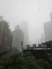 2019 Rainy Sunday Afternoon Hells Kitchen Clinton 8179 (Brechtbug) Tags: 2019 rainy sunday afternoon hells kitchen clinton near times square broadway nyc 08182019 new york city midtown manhattan rain shower summer august storms showers downpour deluge wet drops drop dropping down weather building fog like foggy hell s nemo southern view soaker soak soaking