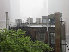 2019 Rainy Sunday Afternoon Hells Kitchen Clinton 8166 (Brechtbug) Tags: 2019 rainy sunday afternoon hells kitchen clinton near times square broadway nyc 08182019 new york city midtown manhattan rain shower summer august storms showers downpour deluge wet drops drop dropping down weather building fog like foggy hell s nemo southern view soaker soak soaking