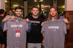 Guests at the Throwdown (houstonfoodie) Tags: bbq barbecue houston saintarnoldbrewing