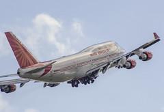 VT-ESO / VNO (Renatas Repčinskas Photo) Tags: vteso vno lithuania eyvi vilnius airport boeing air india b747 b747400 take off plane