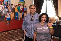 John and Veronica Avila of El Burro & the Bull (houstonfoodie) Tags: bbq barbecue houston saintarnoldbrewing