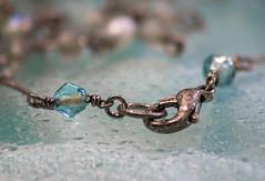MacroMondays-Closed-19Aug19.jpg (+Pattycake+) Tags: eos70d 19august2019 macro macromondays sigma closed necklace linked aqua ©patriciawilden2019 macrolens beads