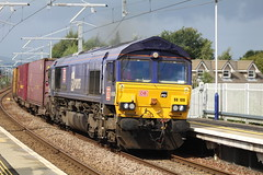 CAMELON 66109 TEESPORT EXPRESS (johnwebb292) Tags: camelon diesel class 66 66109 teesportexpress dbs