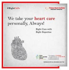 We take your heart care personally, Always! (prashant.ahauja19) Tags: cardiovasculardisease heartdisease heartproblemsymptoms