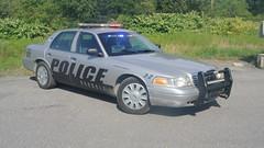 Oakdale Police Department (Emergency_Spotter) Tags: oakdale police department ford crown victoria vic pennsylvania pa hubcaps street appearance package chrome no spotlight setina push bumper