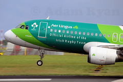 EI-DEO - Aer Lingus A320 'Irish Rugby Livery' (✈ Adam_Ryan ✈) Tags: dub eidw dublinairport2019 2019 dublinairport canon 6d 100400liiisusm 100400 lseries aviation photography autumn august airbus a320 eideo aerlingus ireland irishrugby irishrugbylivery livery speciallivery landing nose
