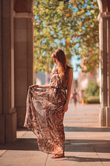Clothes design & tailoring (J. Shinno) Tags: fashion portrait photography clothes counter light contraluz afternoon sunset styling dress model