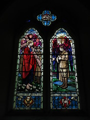 Photo of Window commemorating Major Archibald Bellairs Higgon