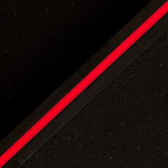 fast diagonal (zeh.hah.es.) Tags: kreis5 zurich zürich schweiz switzerland light licht line linie rot red schwarz black fassade façade facade diagonal minimal