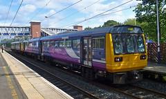 UK class 142 (onewayticket) Tags: diesel railway trains transport northern arriva arrivarailnorth arn dmu pacer