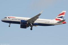 G-TTNJ (Baz Aviation Photo's) Tags: gttnj airbus a320251n british airways baw ba heathrow egll lhr 27l ba673