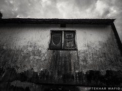 Misery (iftekharwafid) Tags: outside outdoor nopeople windows roof house buildingexterior architecture art daylight clouds construction travel sky old blackbackground blackwallpaper black blackandwhite bw misery poor chittagong bangladesh mobilephotography mobileshot beginner