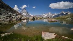 Riffelsee (ivoräber) Tags: riffelsee riffelberg gornergrat zermatt swiss switzerland schweiz suisse matterhorn
