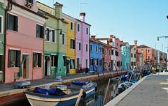 Burano (Venezia) (baffalie) Tags: venise venice italie laguna lagune mer mare sea boat bateau gondole grand canal