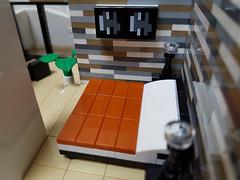 Dune House MOC. Bedroom. (betweenbrickwalls) Tags: lego afol moc bedroom bed interiors furnituredesign