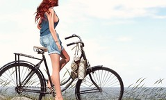 Kara's old bike (VeraCruza) Tags: rkkn nutmeg belleevent fashion maitreya secondlife avatar bicycle virtualworld