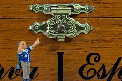 Look, Closed (KellarW) Tags: macro lookup closed macromondays latched payattention locked look lock latch
