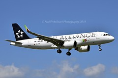 """TAP Air Portugal CS-TVF Airbus A320-251N cn/9088 Painted in """"Star Alliance"""" special colours @ LSGG / GVA 14-08-2019 (Nabil Molinari Photography) Tags: tap air portugal cstvf airbus a320251n cn9088 painted staralliance special colours lsgg gva 14082019"""