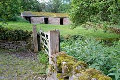 Acorn Bank Cumbria (Adam Swaine) Tags: nationaltrust cumbria northeast england english buildings britain british woodland uk ukcounties counties countryside gates woodengate trees rural green acornbank