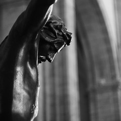 La passion (ftbugatti) Tags: monochrome nofilter bnwphotography bnwmood bnwphoto bnwvision church christ ciotat laciotat oldlens oldlenses sovietlens sovietlenses helios helios44m4 helios44m