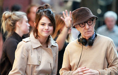 9051350e (emrahozcan) Tags: untitled woody allen project set filming new york usa 11 sep 2017 selena gomez location shooting film behind scenes music actor filmdirector female male notperforming withothers personality 63393438