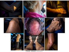 34_Série_sur L'humain (pierre_sauv) Tags: human humain pieds coude tête main genoux jambe