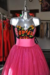 Pink Dress Oaxaca Mexico Vestido (Ilhuicamina) Tags: markets tiendas mexican oaxaca vestido ropa dress pink clothing