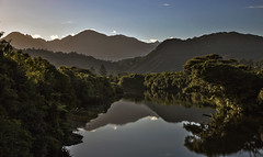 Reflection (CraDorPhoto) Tags: canon6d river water landscape reflection mountains nature outside outdoors newzealand southisland